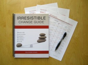 Irresistible Change Guide toolkit pic