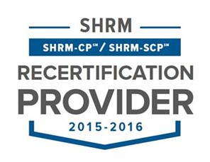 SHRM Recertification Provider Seal 2015-2016