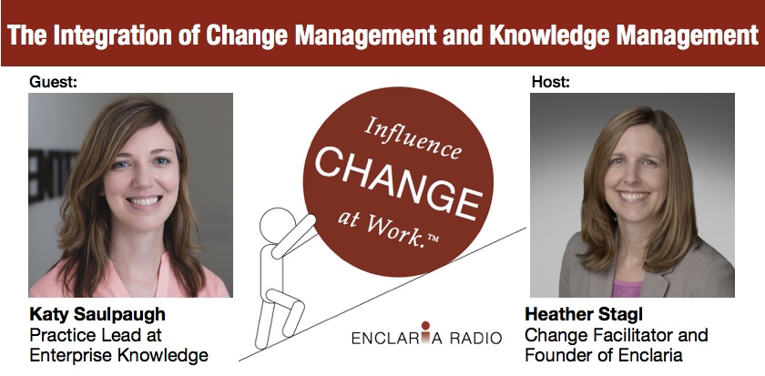 Interview:  The Integration of Change Management and Knowledge Management