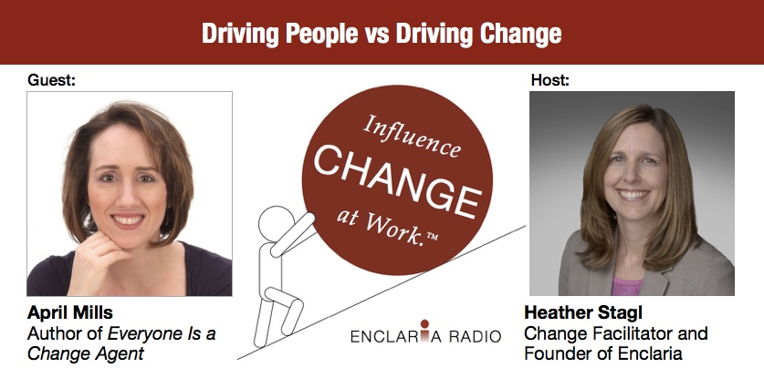 Interview:  Driving People vs Driving Change