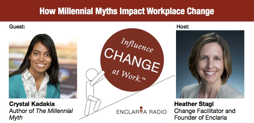 Interview:  How Millennial Myths Impact Workplace Change