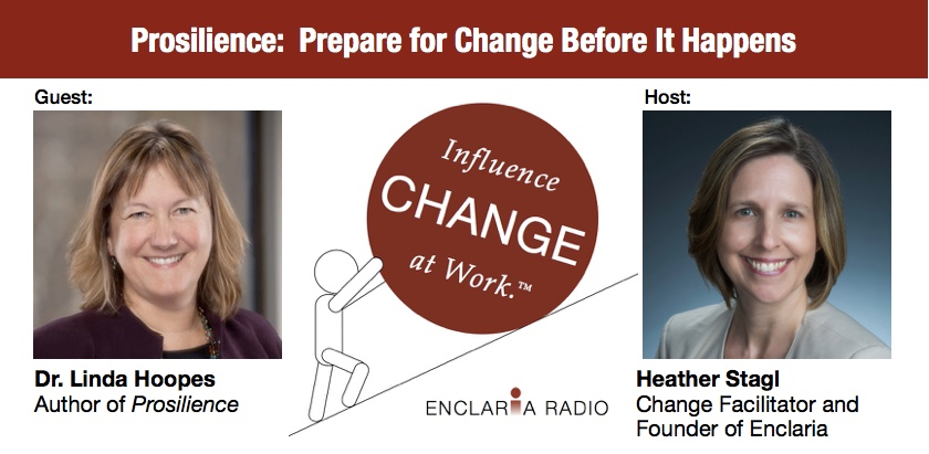 Interview:  Prosilience:  Prepare for Change Before It Happens