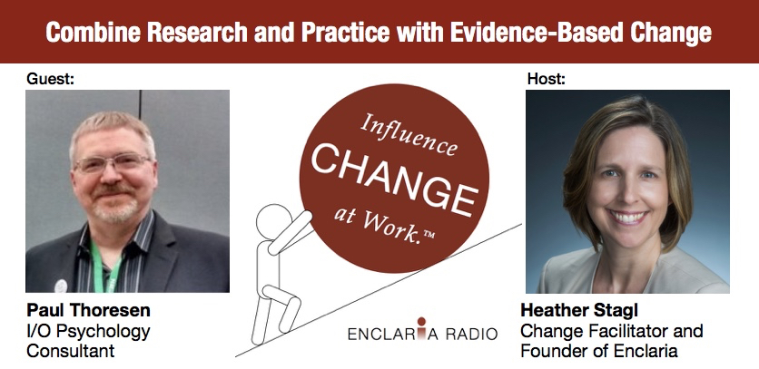 Interview:  Combine Research and Practice with Evidence-Based Change Management